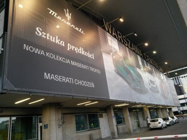 Reklama Maseratti