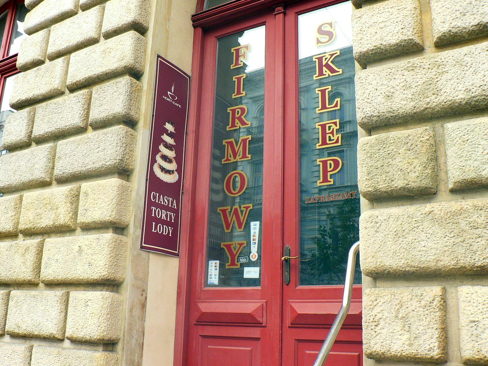 sklep hort-cafe Piotrkowska Łódź