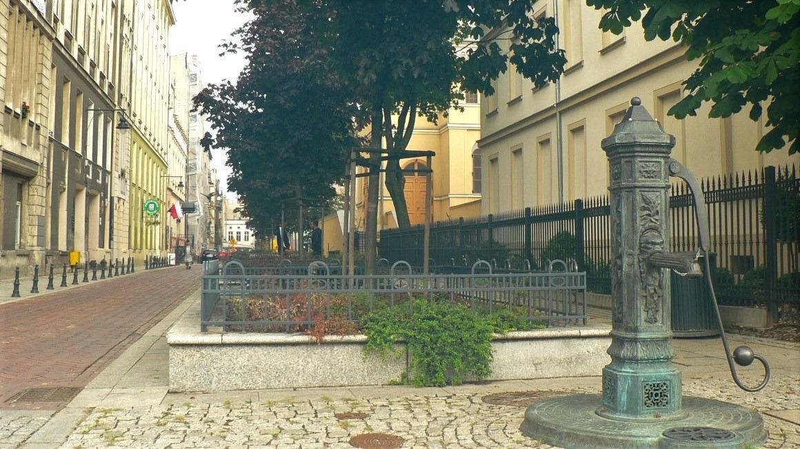 Łódź, ul.Piramowicza, fot.Instytut Spraw Obywatelskich