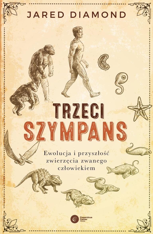 Jared Diamond, Trzeci szympans. okładka