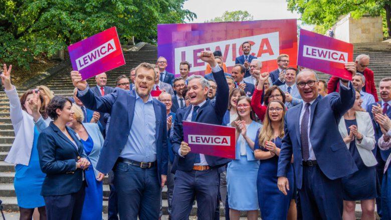 Jedynki do sejmu - koalicja Lewica - konferencja